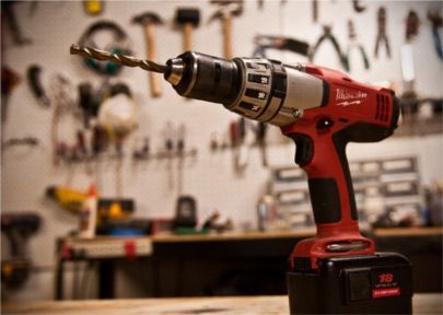 10 Ways to Use Your Cordless Drill / Driver Great ideas!  More than just drilling holes.