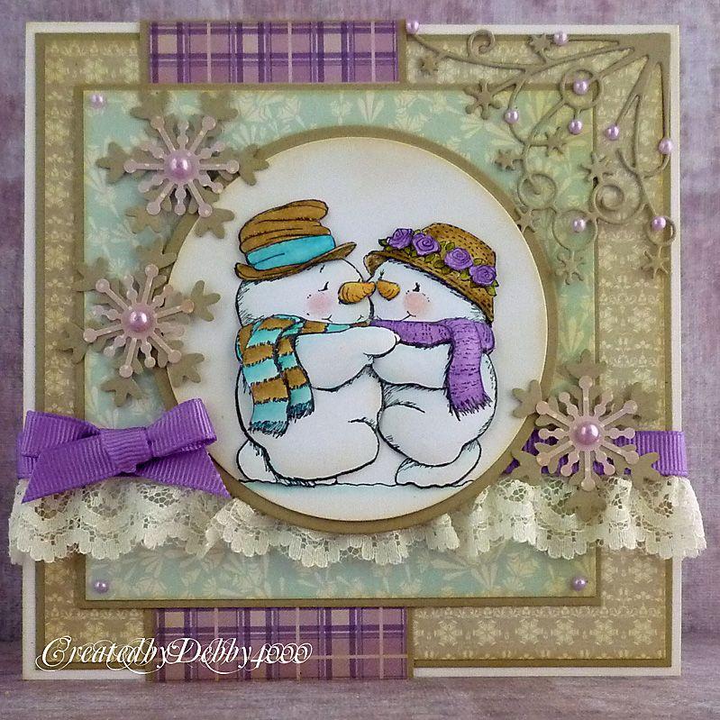 A Scrapjourney A Cute Christmas Many, Many Cards Pinterest