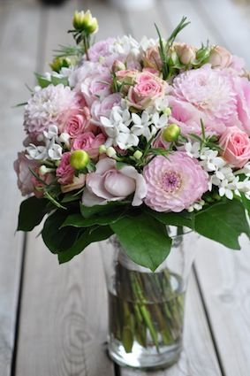 blommor till bröllop pris