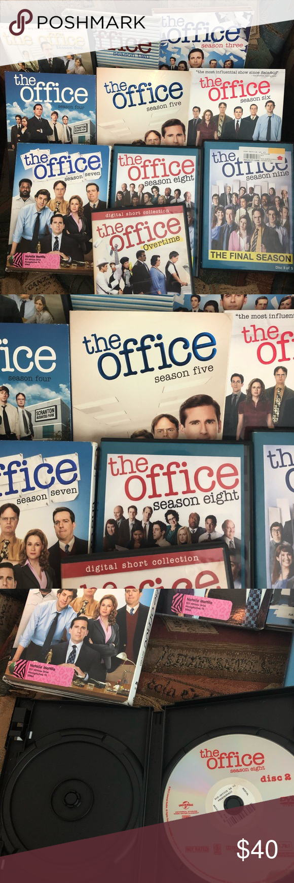 The Office Dvds Seasons 1 9 Set Of