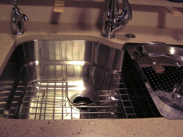 Another Franke Orca Sink Fan! Franke Sink With Custom Grids And Colander.