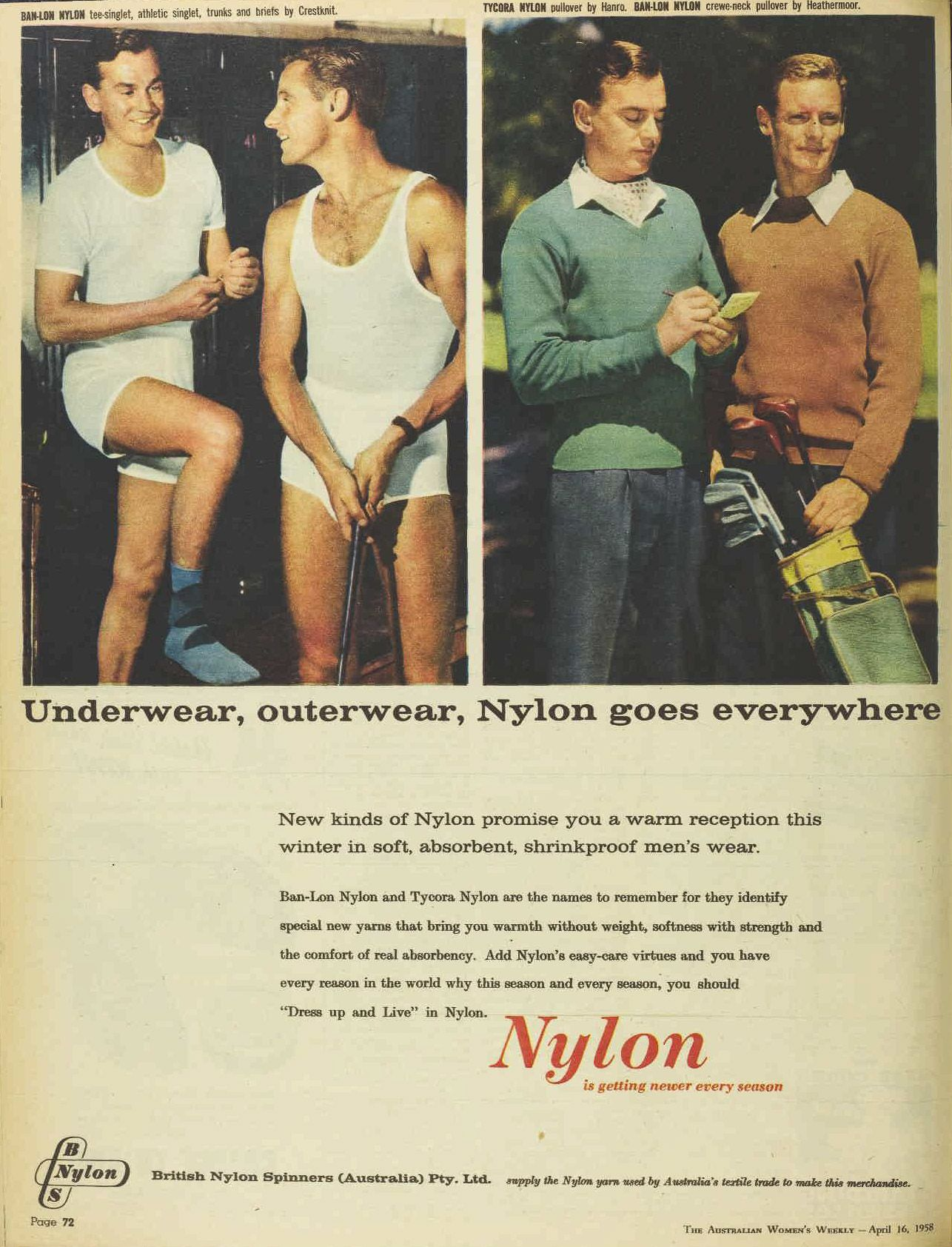 World Without Nylon Nylon