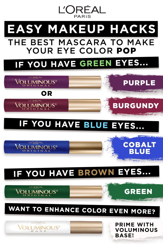 L'Oréal Paris: The Best Mascara for your Eye Color