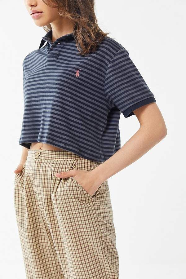 e50946c039c Urban Renewal Vintage Overdyed Striped Polo Shirt in 2019 | Products ...