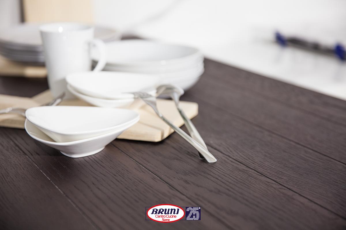 Alzatina Alluminio Per Cucina finitura basi-pensili: telaio laccato opaco bianco prestige