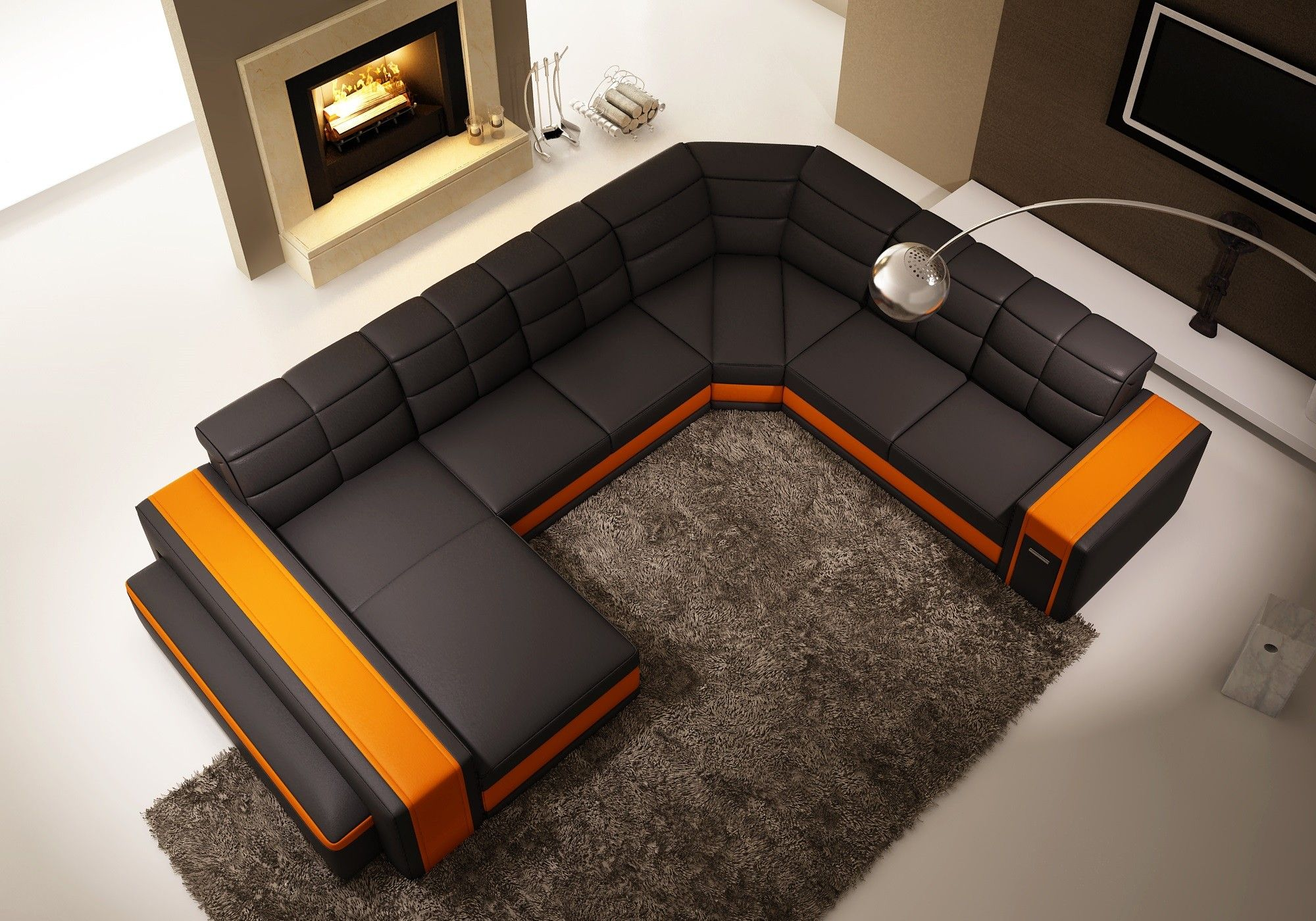 sofa perfect ideas secelectro u sofas loveseat shaped of couch couches collection fabulous leather modern com