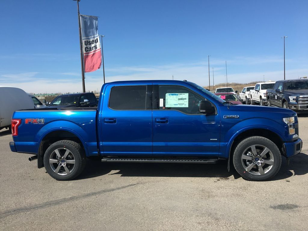 2017 Ford F 150 Fx4 Supercrew 4x4 In Lightning Blue F150 4x4