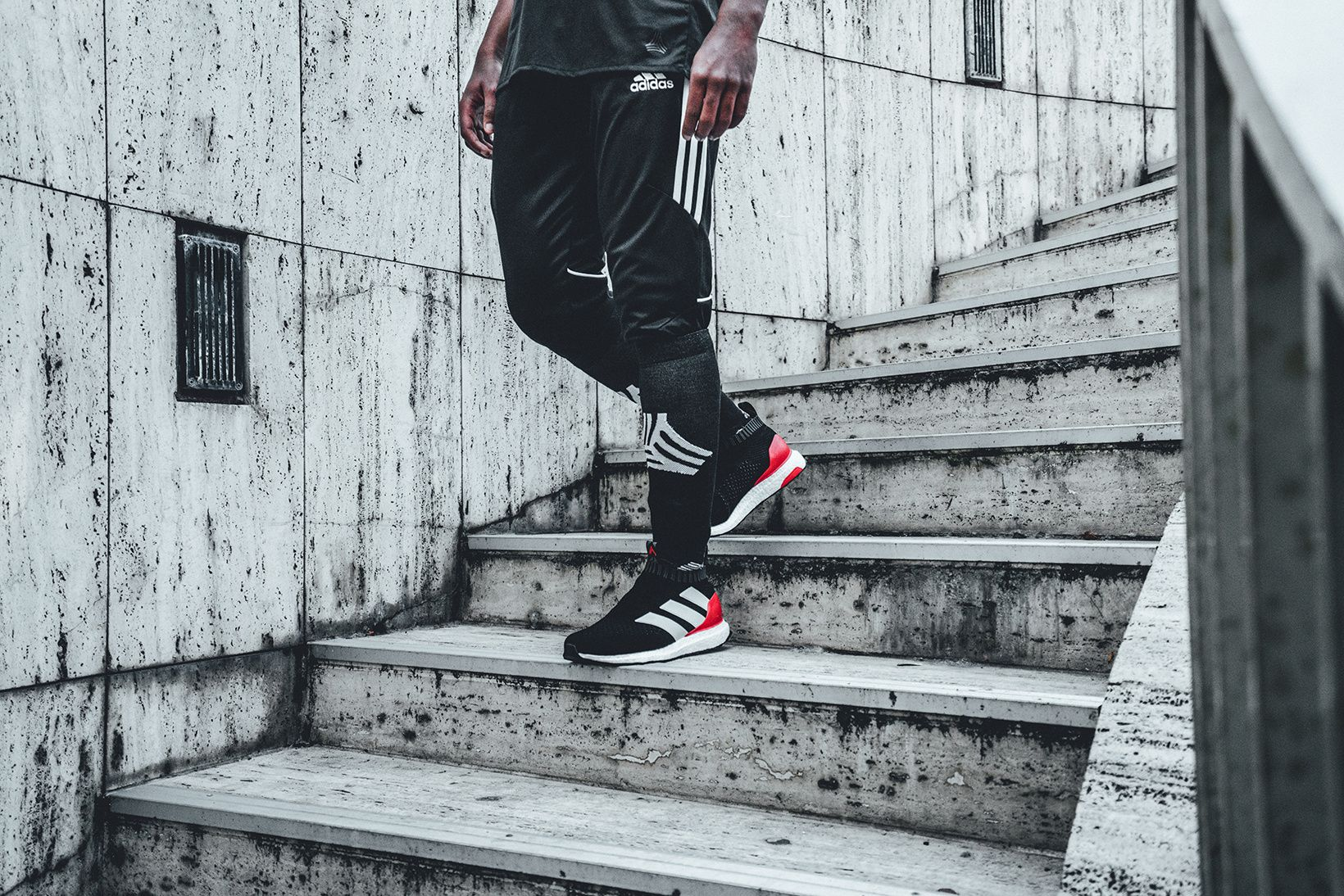 Adidas Introduces A Red Limit Edition Of The Ace 16 Purecontrol Ultraboost Ultra Boost Adidas Ultra Boost Dressed To Kill