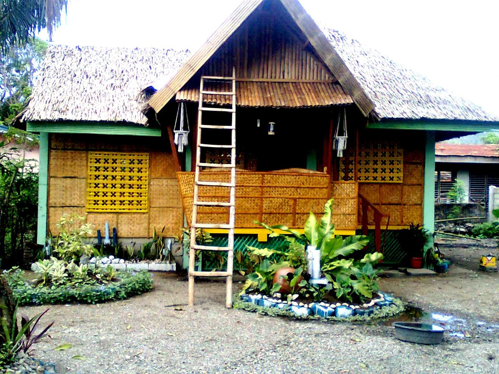 Bahay kubo a very simple rest houseguest house