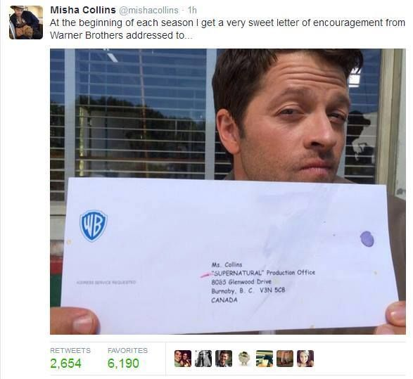 Misha tweet