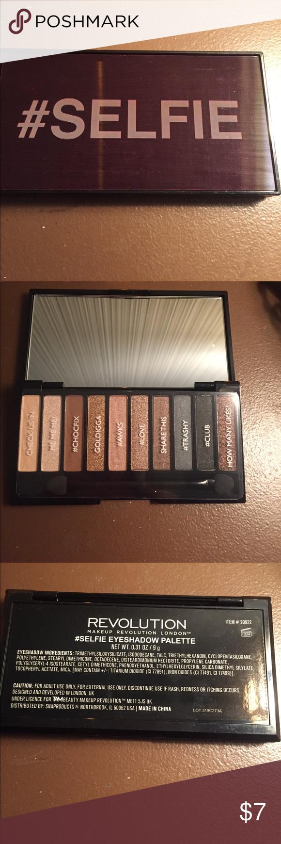 selfie eyeshadow palette Brand new, never used eyeshadow