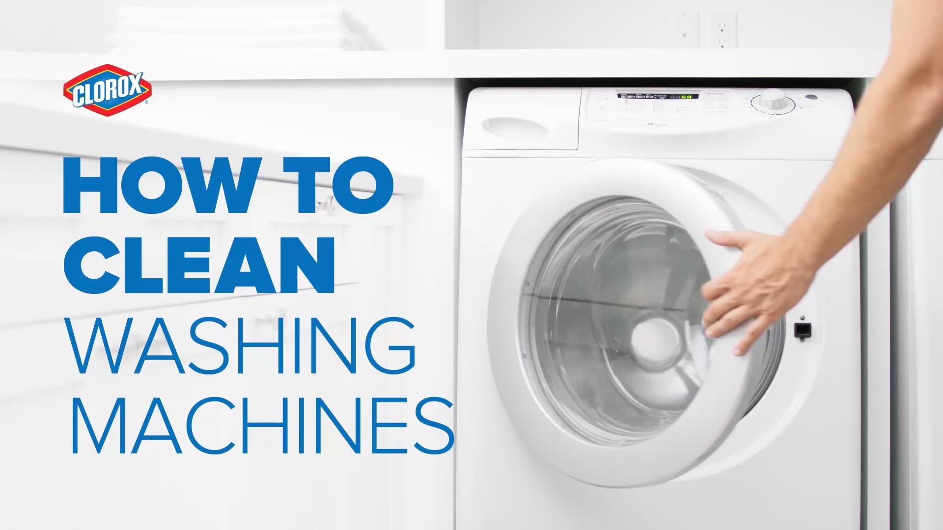 How To Clean Washing Machines Video Washing Machine Clean Washing Machine Washing Machine Drum