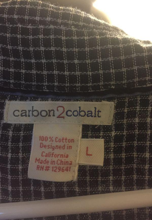 Large Carbon 2 Cobalt dress shirt #cobaltdress