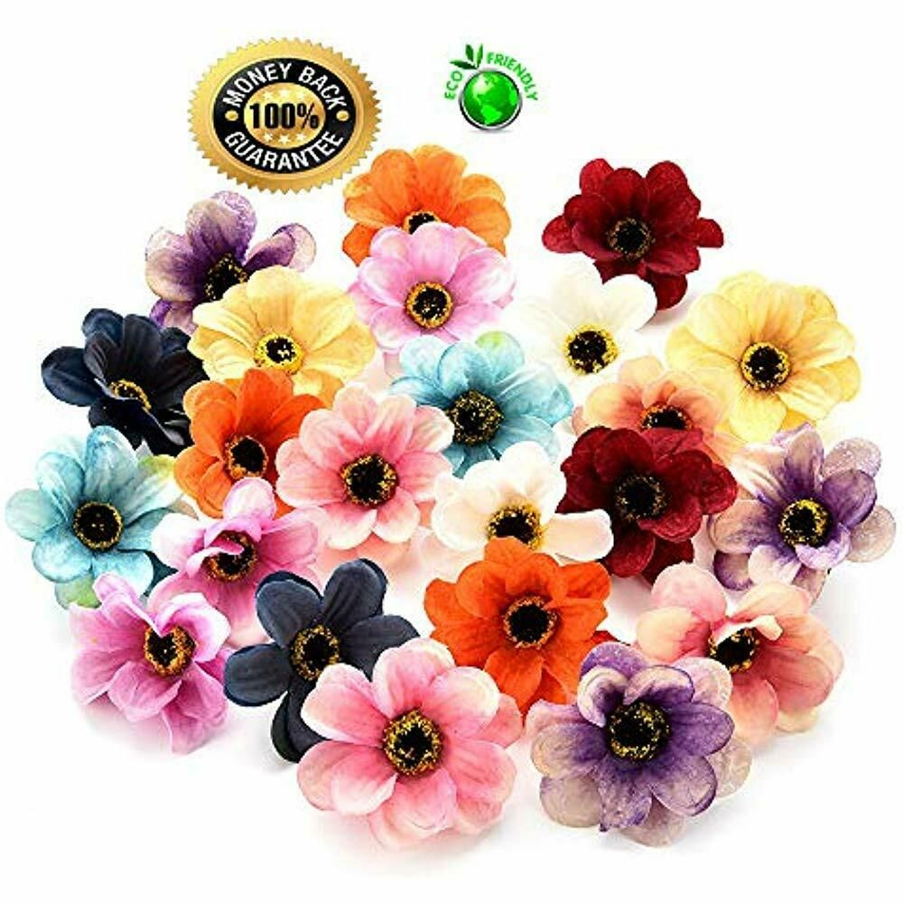 Silk Flowers In Bulk Fake Flowers Heads Mini Sunflowers Artificial Wedding Diy Fashion Home Gard Bulk Silk Flowers Wholesale Fresh Flowers Wholesale Flowers