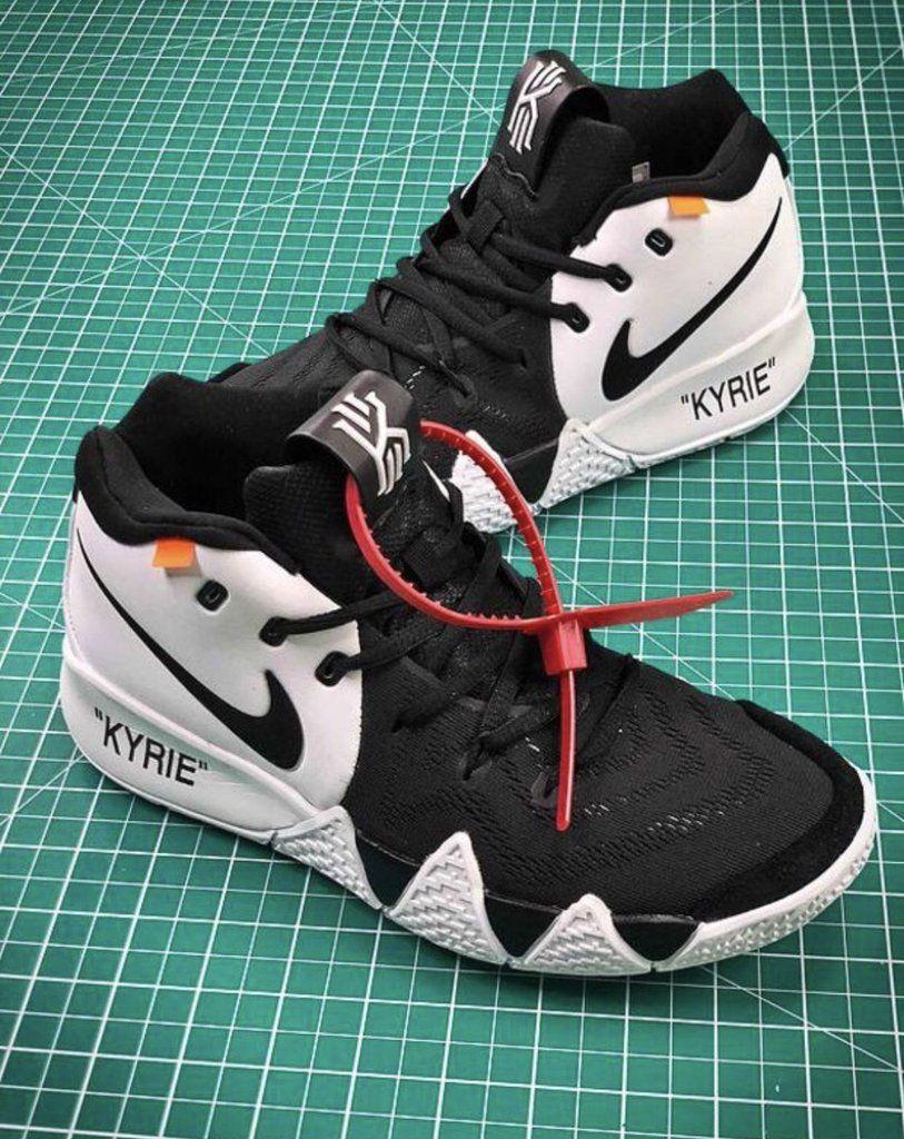 Off white X Nike kyrie 4 in 2020 Nike kyrie, Nike, Nike