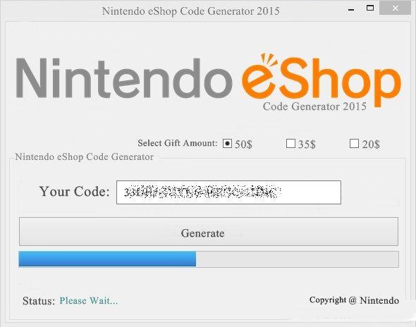 carte nintendo eshop gratuit Nintendo Eshop Card Codes Generator Tool Download No Survey (avec