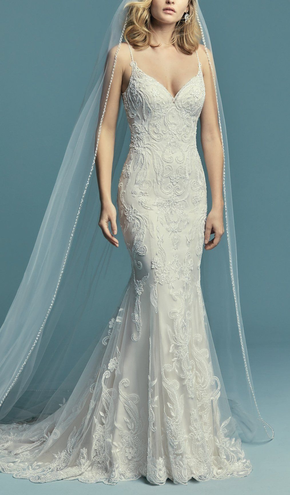Maggie Sottero Wedding Dresses | Beaded lace, Maggie sottero and ...