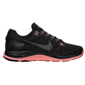 b855c0cfd44c5 Nike LunarGlide+ 5 - Women s black dark grey atomic pink  89.99 running shoe  lady foot locker