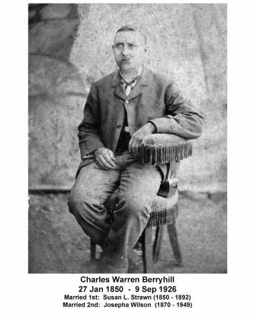 Charles Berryhill Amite County Historical And Genealogical