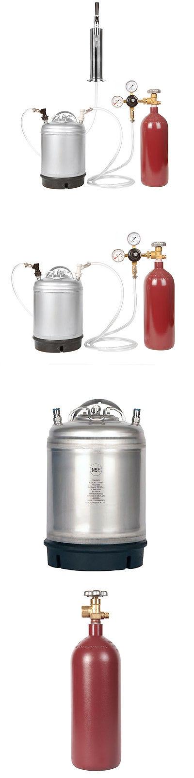 Coffee Makers Specialty 177752: Nitrogen Kegerator Kit 20 Cu Ft ...