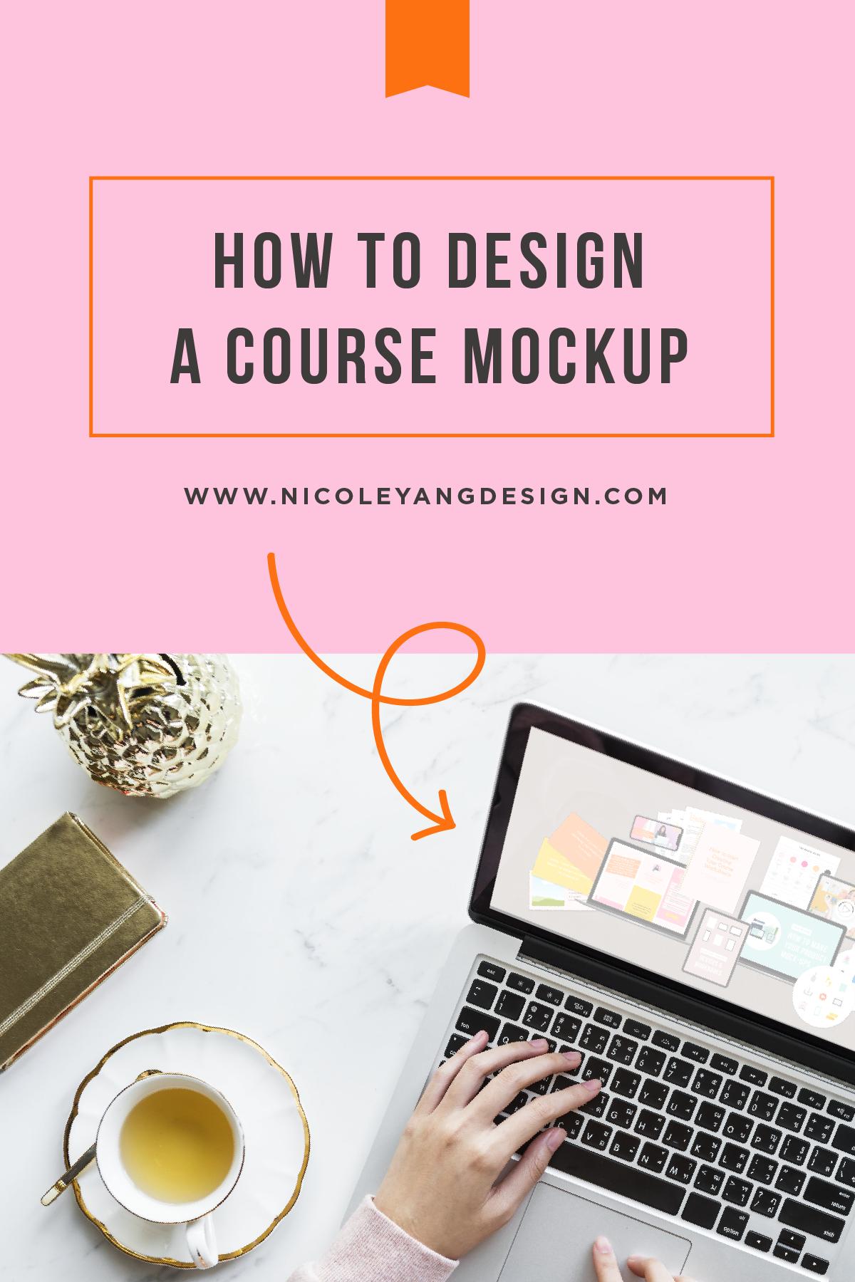 How To Make A Course Mockup Photoshop Design Diy Courses Design Lab
