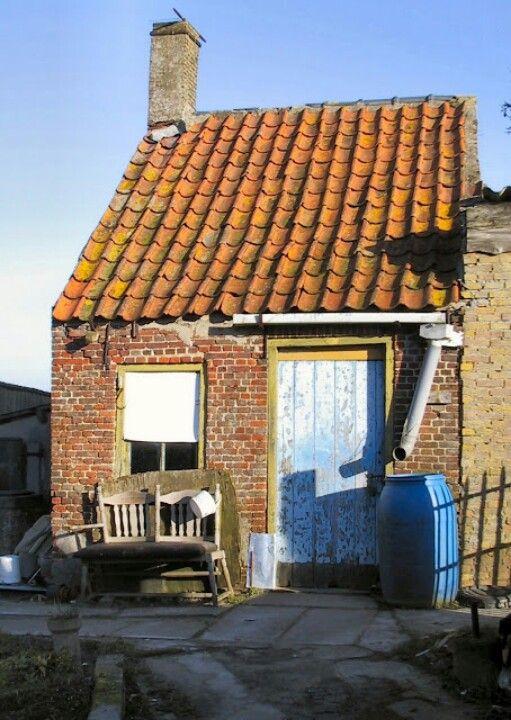 Het oude huisje in Aardenburg foto Carlos Staelens