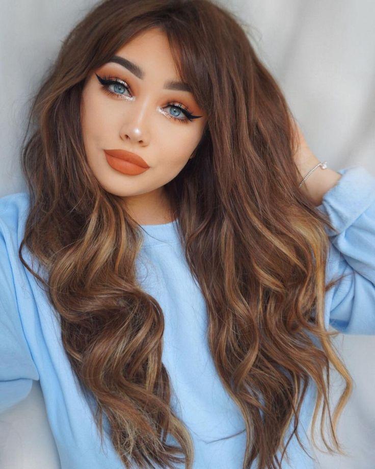 Idée Maquillage 2018 / 2019 orange Beauté maquillage