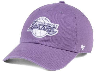 833d77a09 Los Angeles Lakers  47 NBA Pastel Rush CLEAN UP Cap