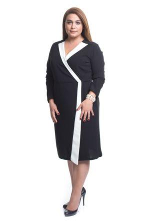 Melisita Rossi Buyuk Beden Elbise Elbise Moda Stilleri Elbiseler
