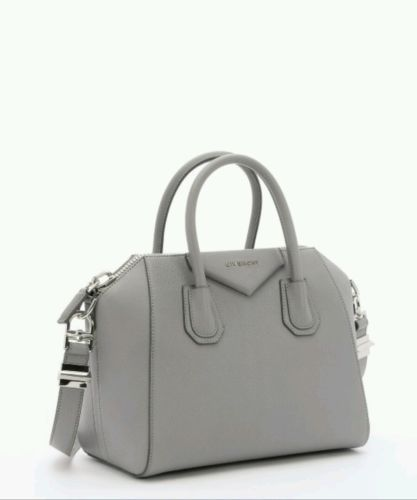 3252d711c6 BRAND-NEW-Givenchy-Grey-Antigona -Mini-Leather-Shoulder-BAG-CELEBRITY-MUST-HAVE