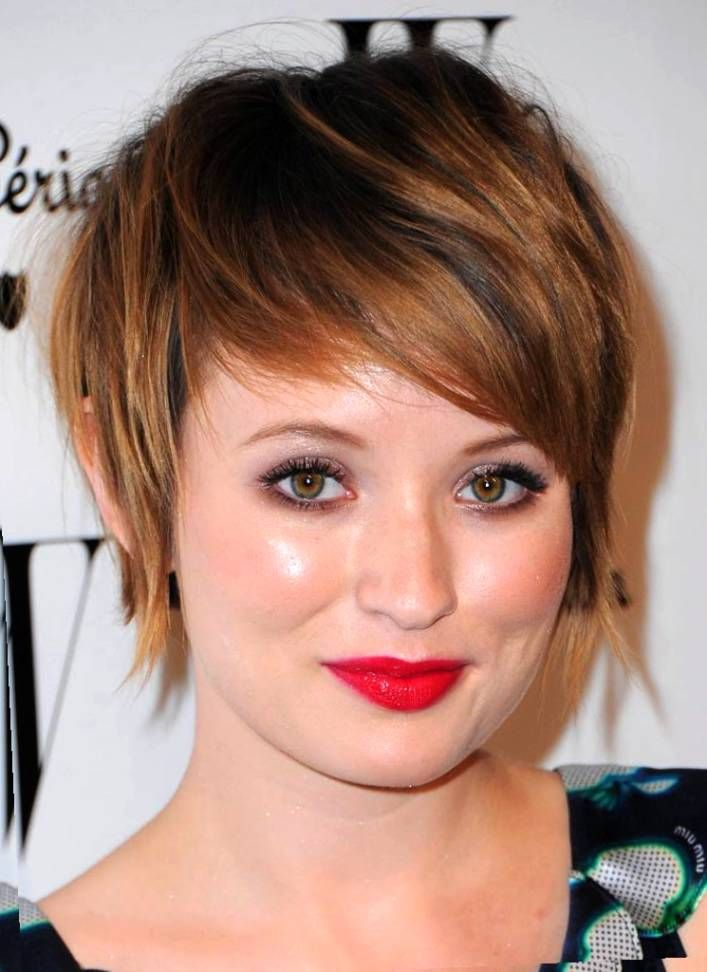 Plus Size Models With Short Hairstyles Excellence Hairstyles Gallery