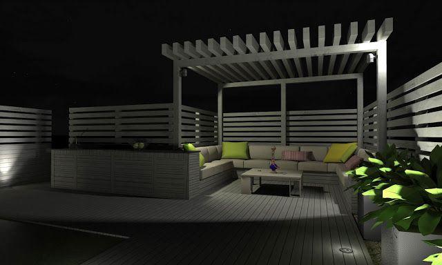 Proyectos Diseno Integral De Terraza Solarium En Torreciega Disenos De Unas Decoracion De Exteriores Decoracion Terraza