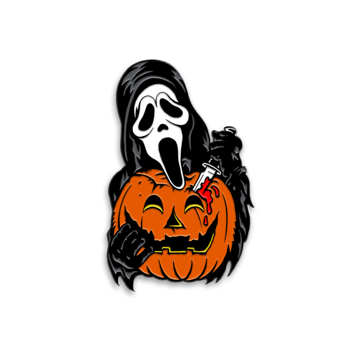 Ghost Face Carver Enamel Pin Ghost Faces Halloween Tattoos Horror Movie Art