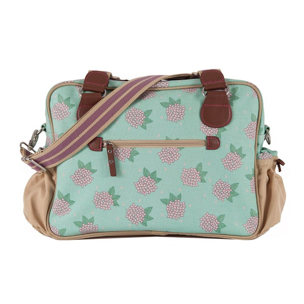 Not So Plain Jane Hydrangea baby Changing Bag 50% off NOW £34.50!