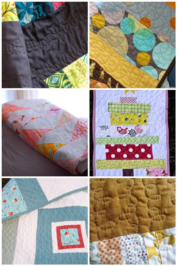 great site with wonderful free motion tutorials A Few Scraps: Free Motion Quilting Designs: Loops