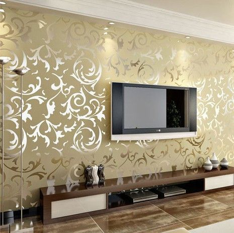Decorative Wall Papers With Versatile Design And Color To Suit