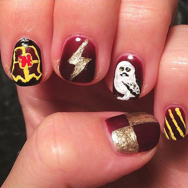 These Harry Potter Nail Art Designs Will Make Your Manimonday
