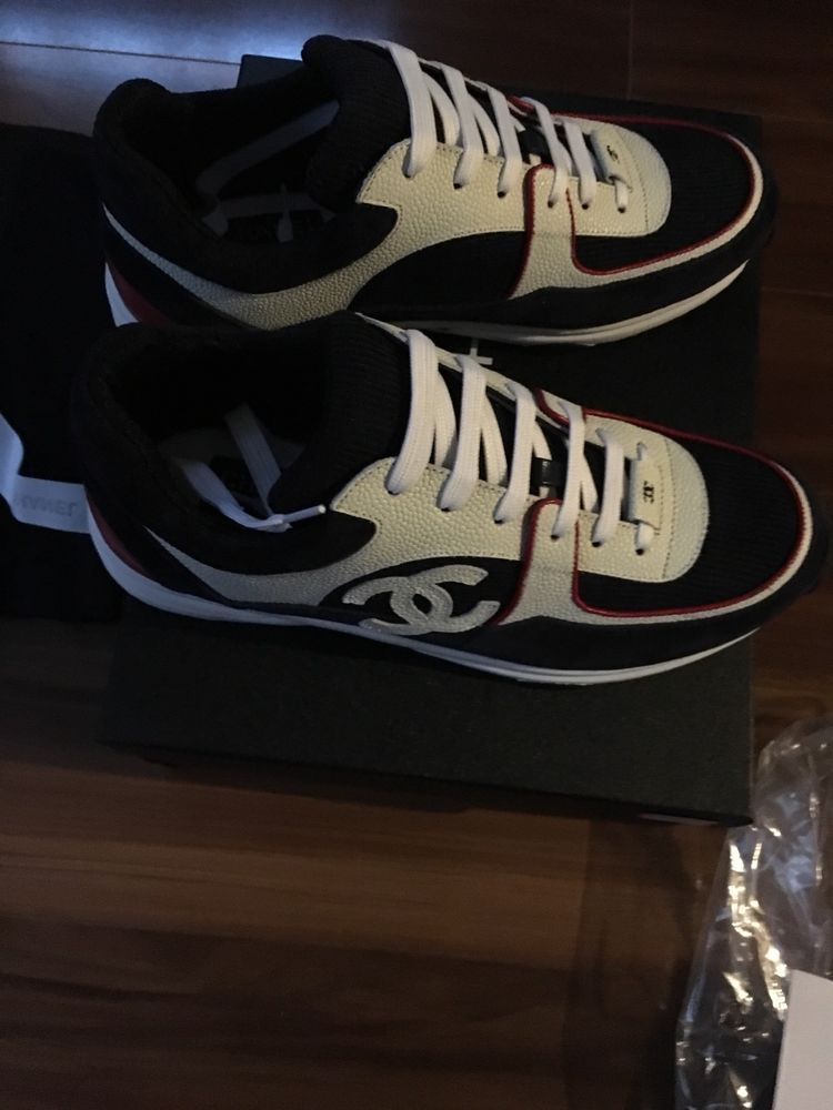 549d97d9ebb61 Mens Chanel Sneakers Size 8 #fashion #clothing #shoes #accessories ...