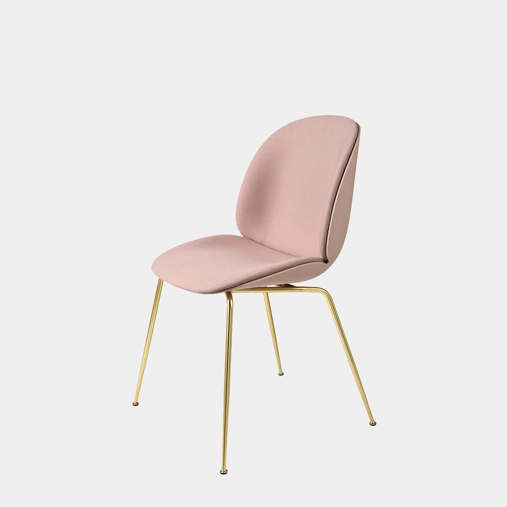 Beetle Dining Chair Front Upholstered In 2020 Dining Chairs