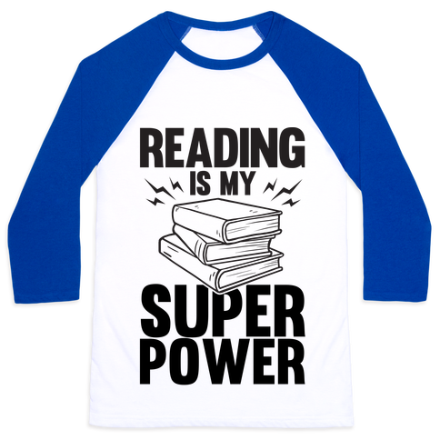 "Reading is your super power because you would rather stay inside and read all day then be around people. show of your love for books with this design that says ""Reading Is My Super Power"" 