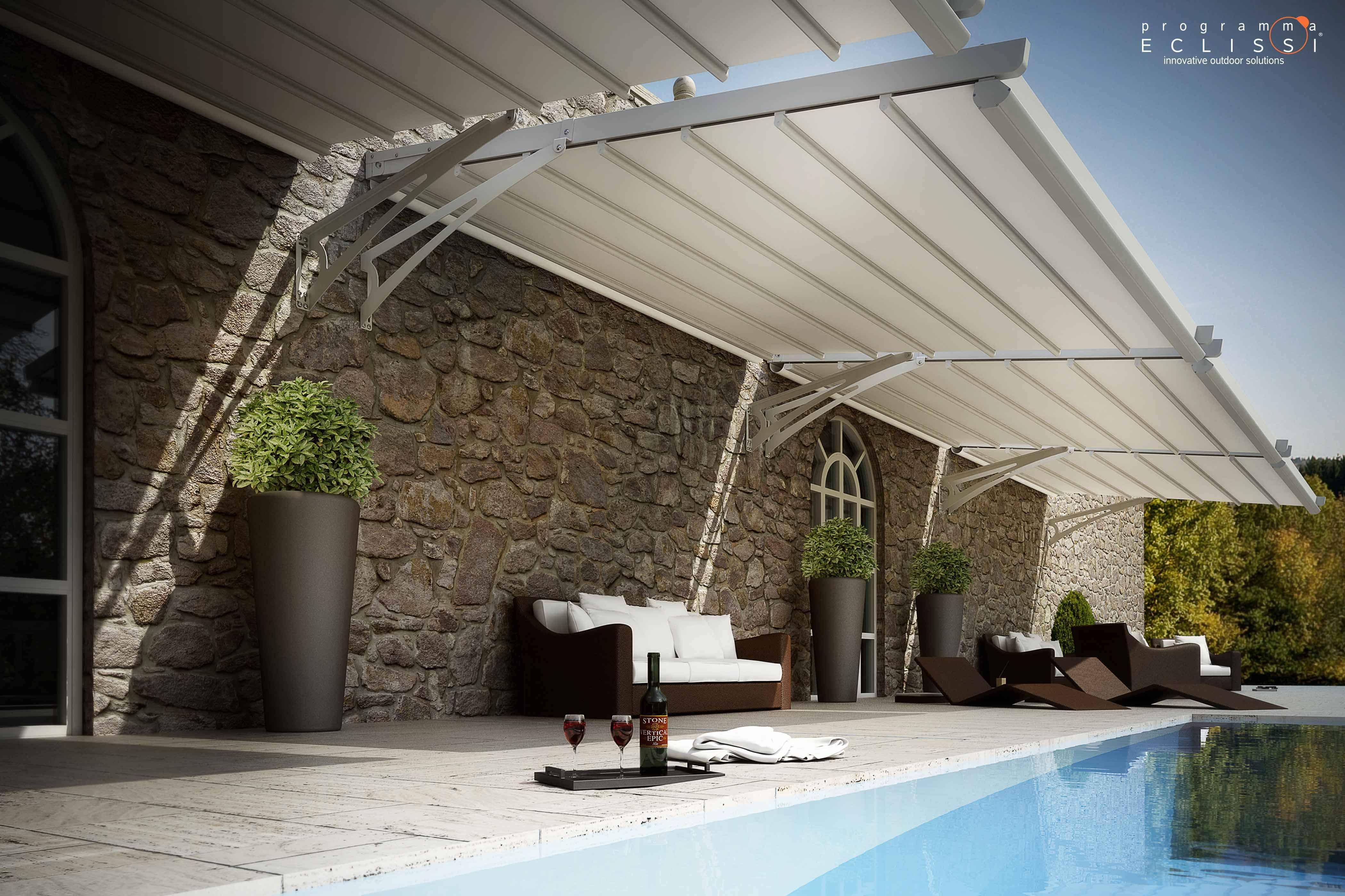 Le monde du store fermeture terrasse pergola bache - Bache pour terrasse ...