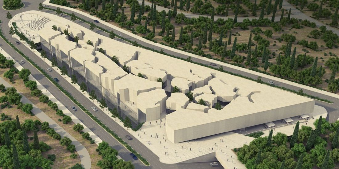national museum in israel   Israel National Library Architectural Competiotn 2012 - Skuba 3D Art