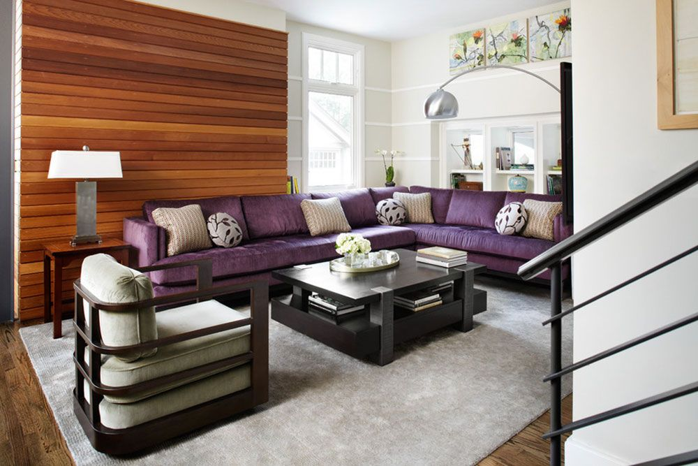 Great Looking Purple Couch Design Ideas | Purple couch, Feng shui ...