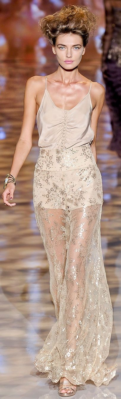 Badgley Mischka at NYFW Spring 2012
