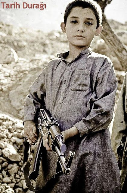 Child Soldier In Pakistan Afghanistan Border Afghanistan