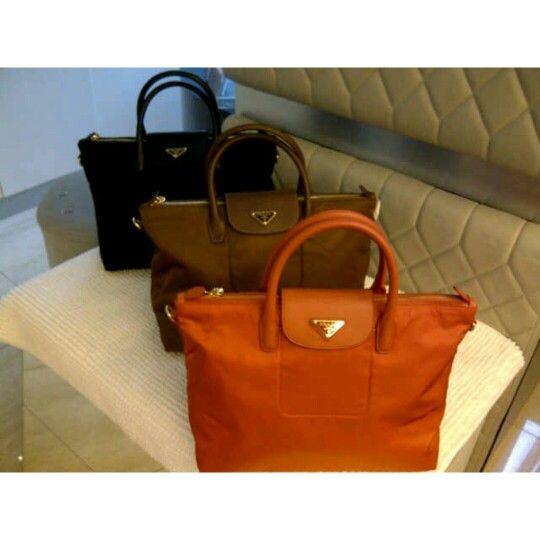 7470cc2fd13d Prada BN2541 tessutto bag Color: papaya, corinto, nero | EUROPEAN ...