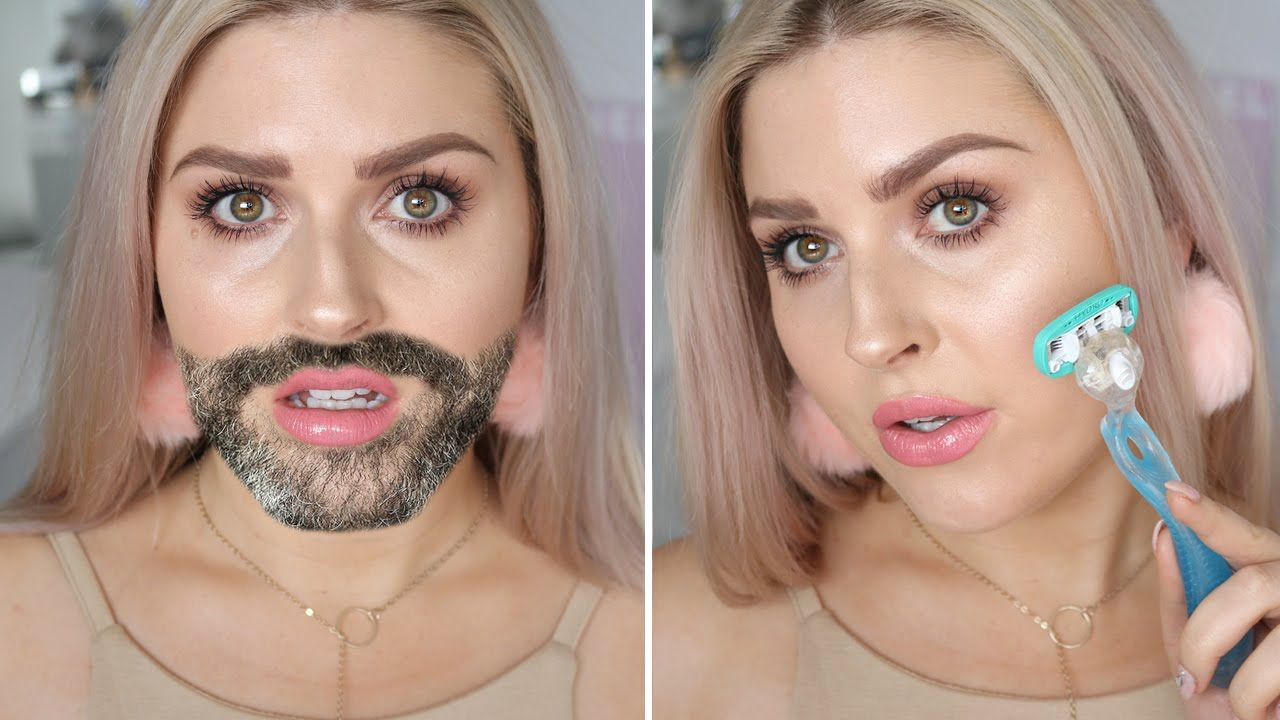 How To Remove Facial Hair At Home! ♡ Shaaanxo Beauty