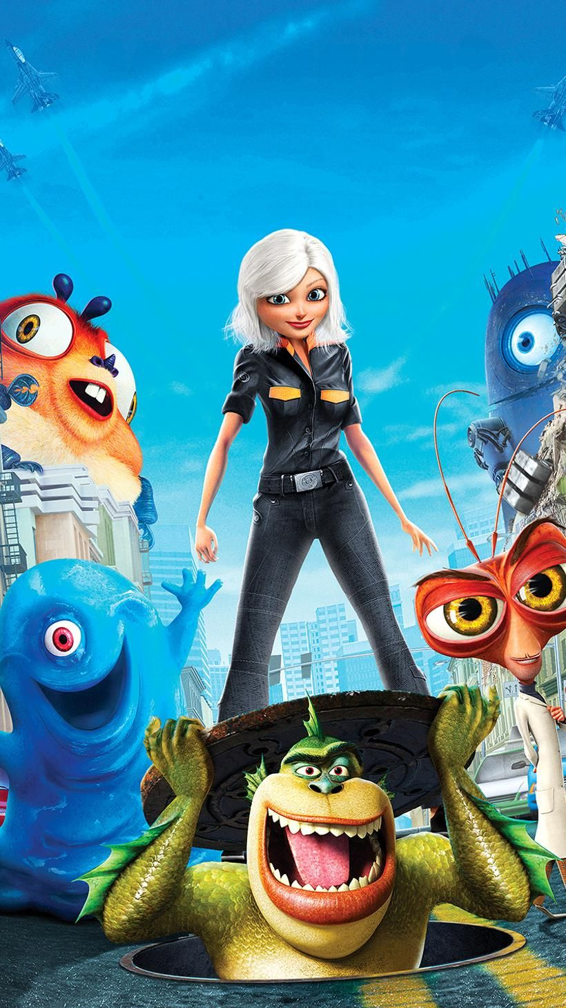 monsters vs aliens full movie genvideos