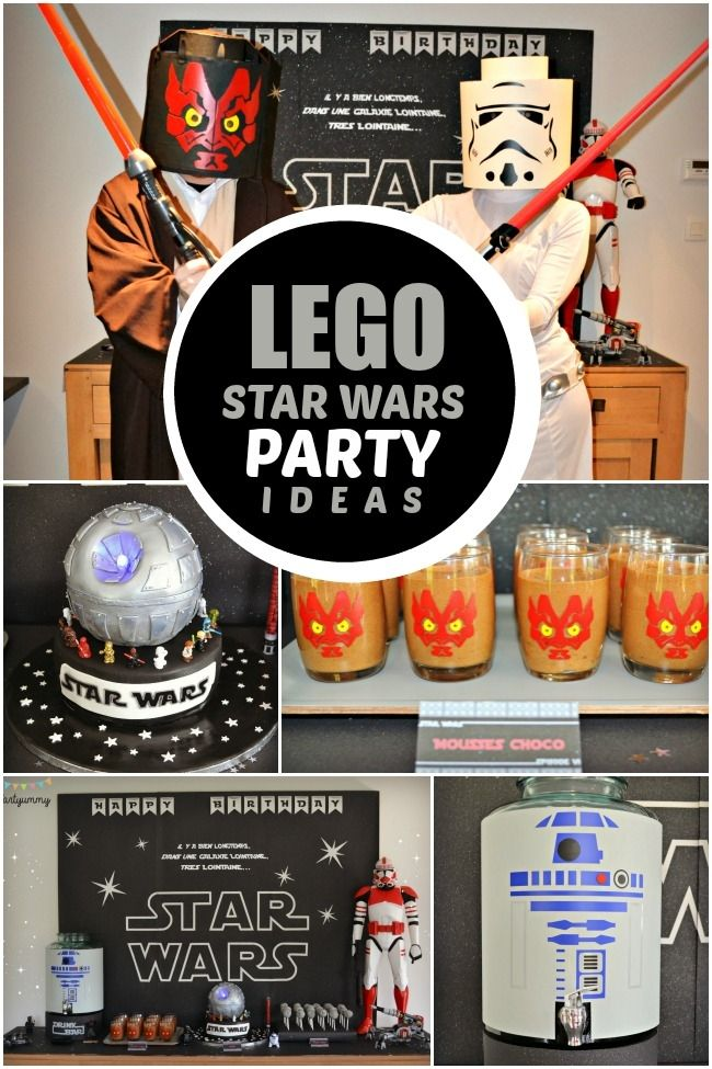 Does your boy love Legos and Star Wars Combine themes for a Lego