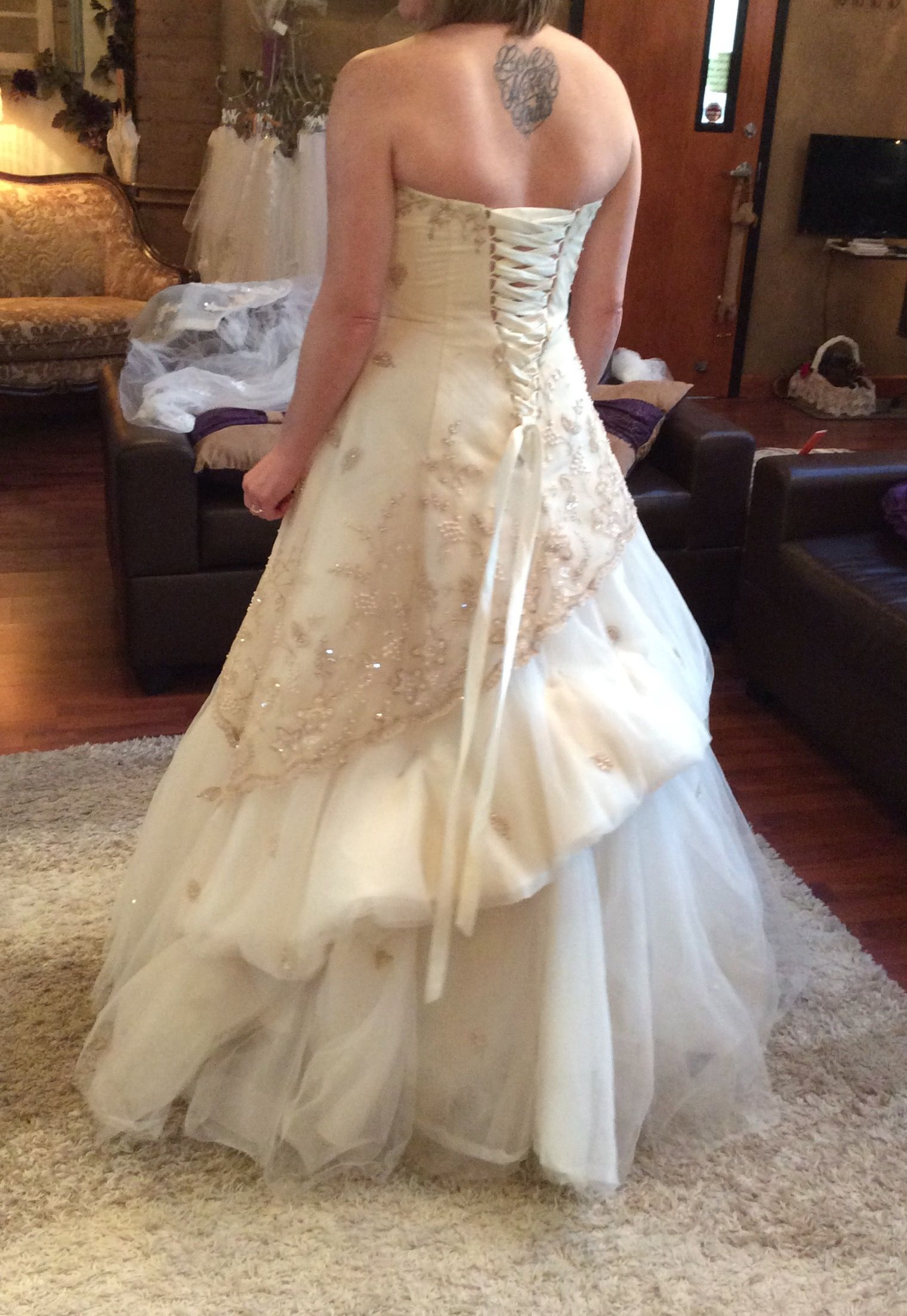 French bustle Wedding Gown Bustle Styles Pinterest